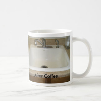 Sink Before and After Coffee Mug