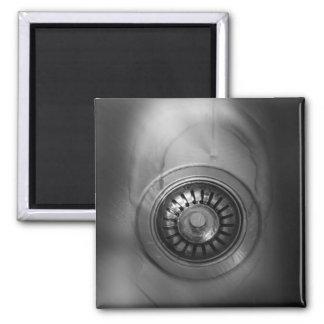 Sink Drain Mystic Refrigerator Magnet