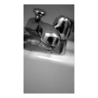 Sink Faucet Business Cards