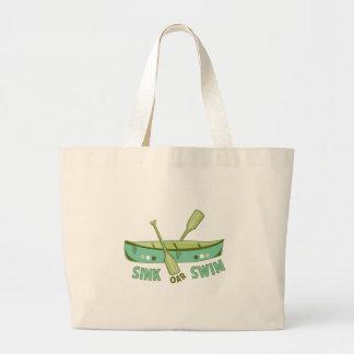 Sink Oar Swim Canvas Bag