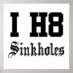 sinkholes poster