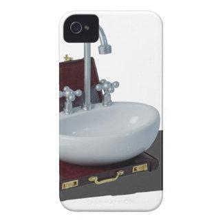 SinkInBriefcase011815 Carcasa Para iPhone 4 De Case-Mate