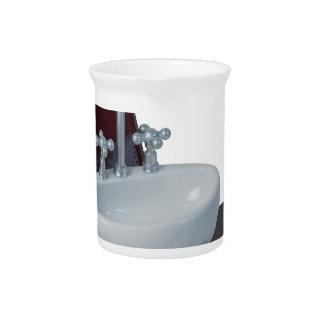 SinkInBriefcase011815 Drink Pitcher