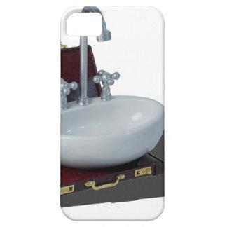 SinkInBriefcase011815 Funda Para iPhone SE/5/5s