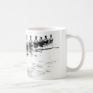 Sinking 8 Man Crew Rower Coffee Mug