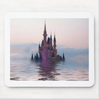 Sinking Castle Mouse Pad