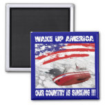 Sinking Country Magnet