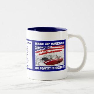 Sinking Country Mug