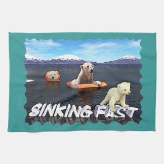 Sinking Fast Towel