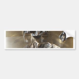Sinking Feeling, Art Sink Crater Car Bumper Sticker