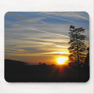 Sinking into Dusk Mouse Pad