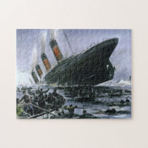 Sinking RMS Titanic Jigsaw Puzzle