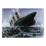 Sinking RMS Titanic Posters