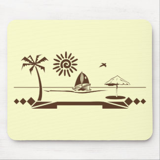 Sinking ship mouse pad