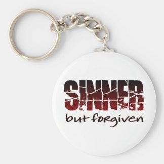 Sinner but forgiven keychain