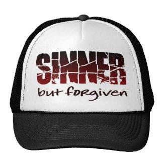 Sinner but forgiven trucker hat