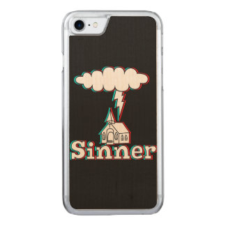 Sinner In 3D (not really) Carved iPhone 8/7 Case