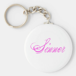 Sinner Keychains