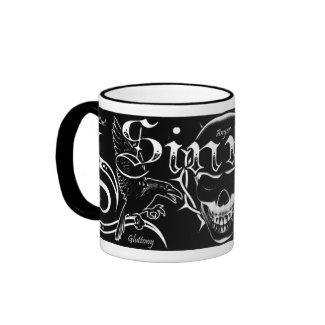 Sinner mug (white) mug