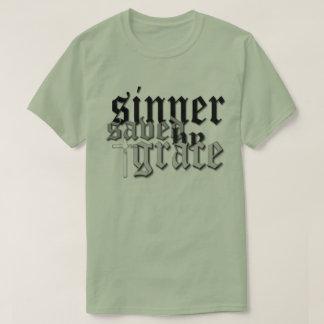 sinner saved by grace t var 05 tee shirt