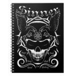 Sinner Skull Note Books