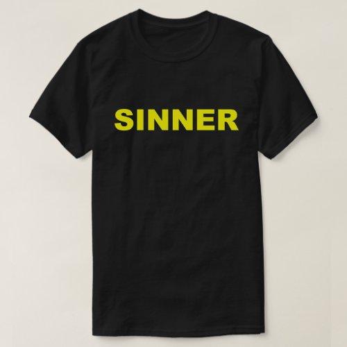 Sinner T_Shirt
