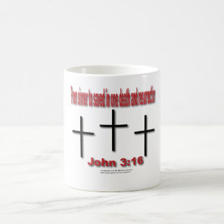 Sinner to saved classic white coffee mug