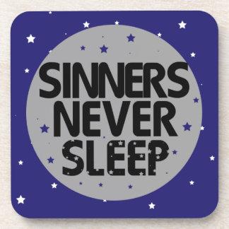 Sinners Never Sleep Coasters