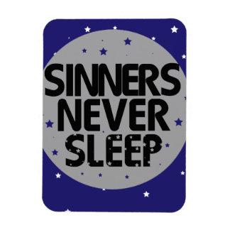 Sinners Never Sleep Flexible Magnets