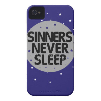 Sinners Never Sleep iPhone 4 Case-Mate Case