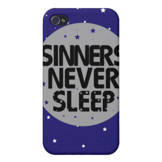 Sinners Never Sleep iPhone 4 Cover