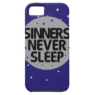 Sinners Never Sleep iPhone 5 Cases
