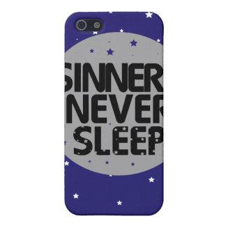 Sinners Never Sleep iPhone 5 Cover
