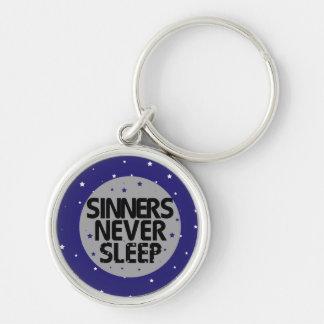 Sinners Never Sleep Keychains