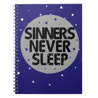 Sinners Never Sleep Notebooks