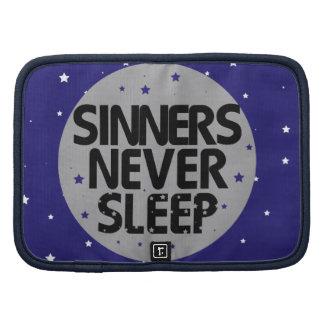 Sinners Never Sleep Organizer