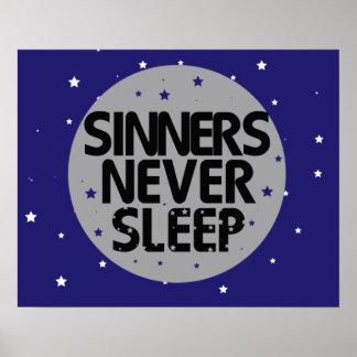 Sinners Never Sleep Poster