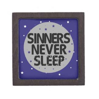 Sinners Never Sleep Premium Jewelry Box