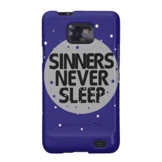 Sinners Never Sleep Samsung Galaxy S2 Covers