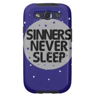 Sinners Never Sleep Samsung Galaxy SIII Case