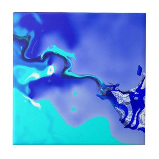 sino abstracto 01 azulejo cuadrado pequeño