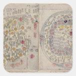 Sino Korean world map Sticker