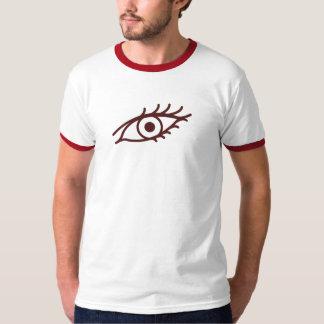 Sino roto por la camiseta de los hombres del ojo camisas