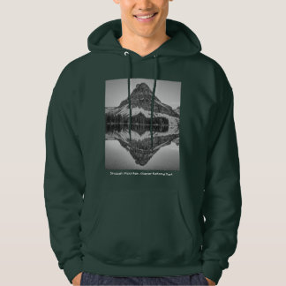 Sinopah Mountain Reflection Design Hoodie