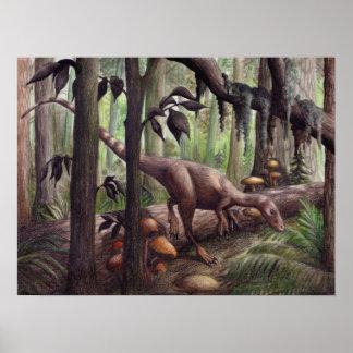 Sinosauropteryx Print