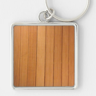 sinple verticle wood keychain