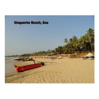 Sinquerim Beach Postcard