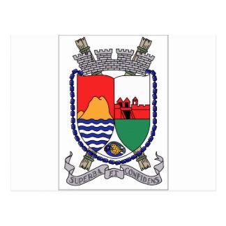 Sint Eustatius Coat of Arms Postcard