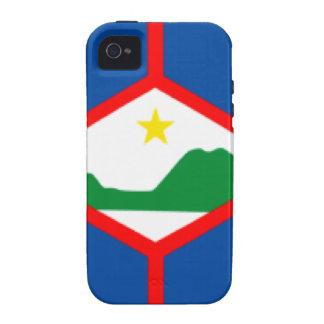 Sint Eustatius Flag Vibe iPhone 4 Case