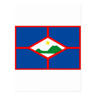 Sint Eustatius Flag Postcard